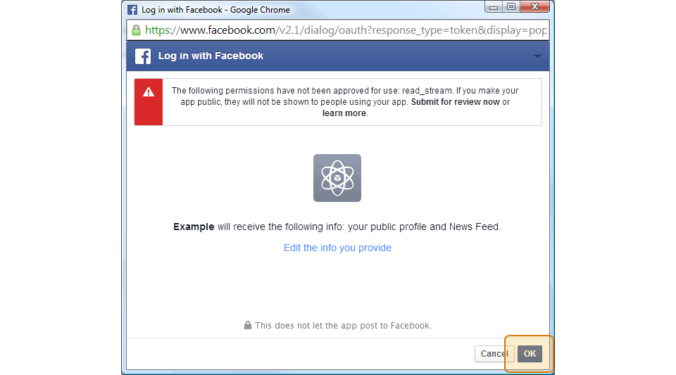How to get an extended Facebook User Access Token