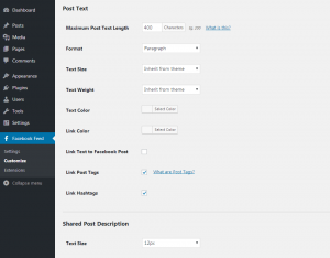 Customizing your Facebook feed WordPress plugin - Post Style - Page 2