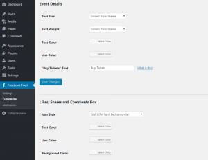 Customizing your Facebook feed WordPress plugin - Post Style - Page 6