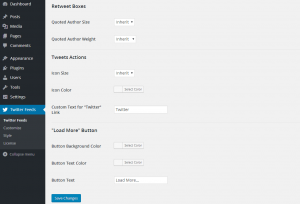 Configuring the Custom Twitter Feeds WordPress Plugin - 10