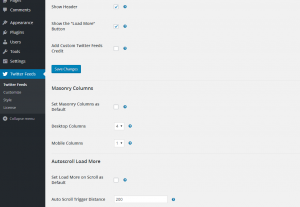 Configuring the Custom Twitter Feeds WordPress Plugin - 4