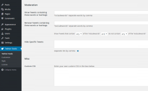 Configuring the Custom Twitter Feeds WordPress Plugin - 5