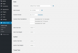 Configuring the Custom Twitter Feeds WordPress Plugin - 8