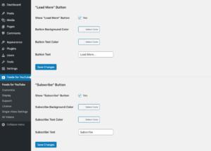 Feeds for YouTube WordPress plugin - Customize 4