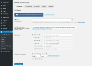 Feeds for YouTube WordPress plugin - Page 1