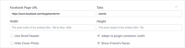 Facebook Page code generator