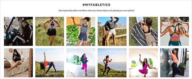 testimonials on website instagram