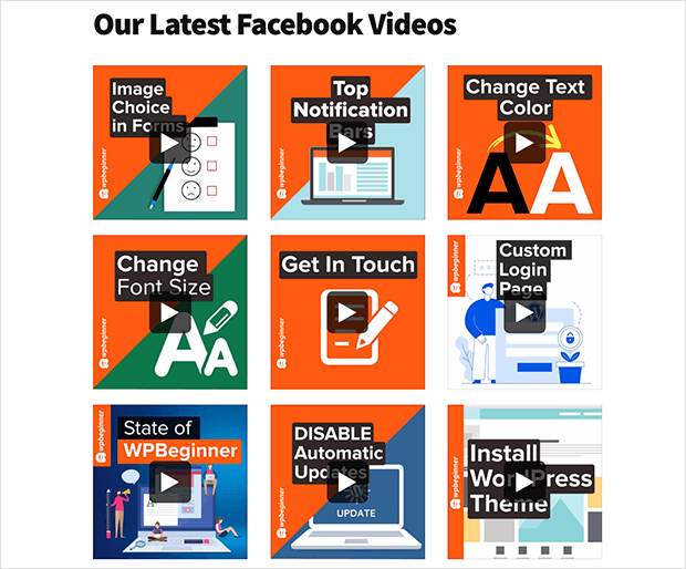 Embed a facebook video in WordPress