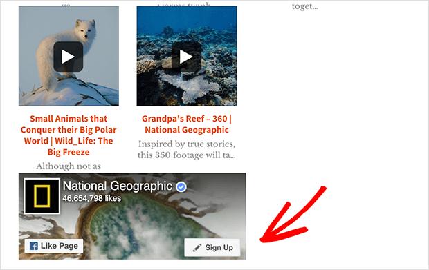 embed facebook video wordpress widget