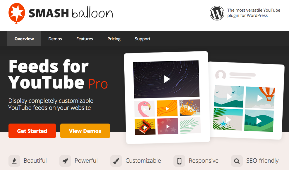 embed youtube channel wordpress plugin