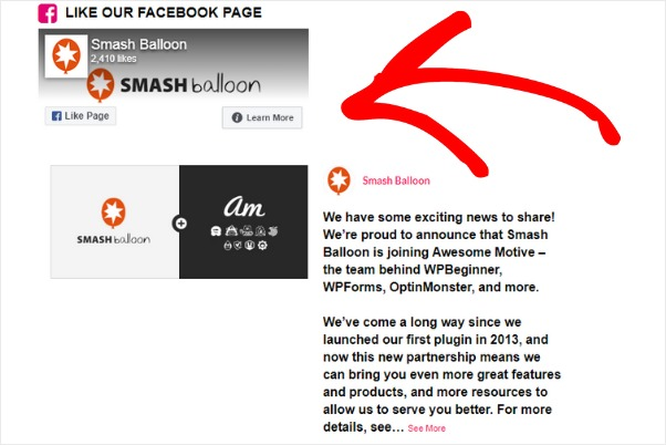 facebook feed widget for wordpress plugin