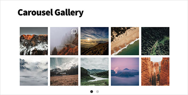 instagram slideshow example