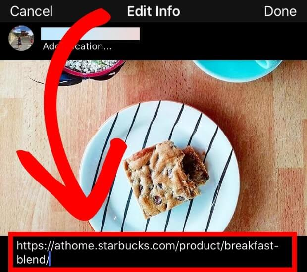 how to set up instagram shopping captions