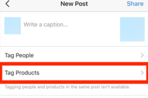 how to set up instagram shopping tag products
