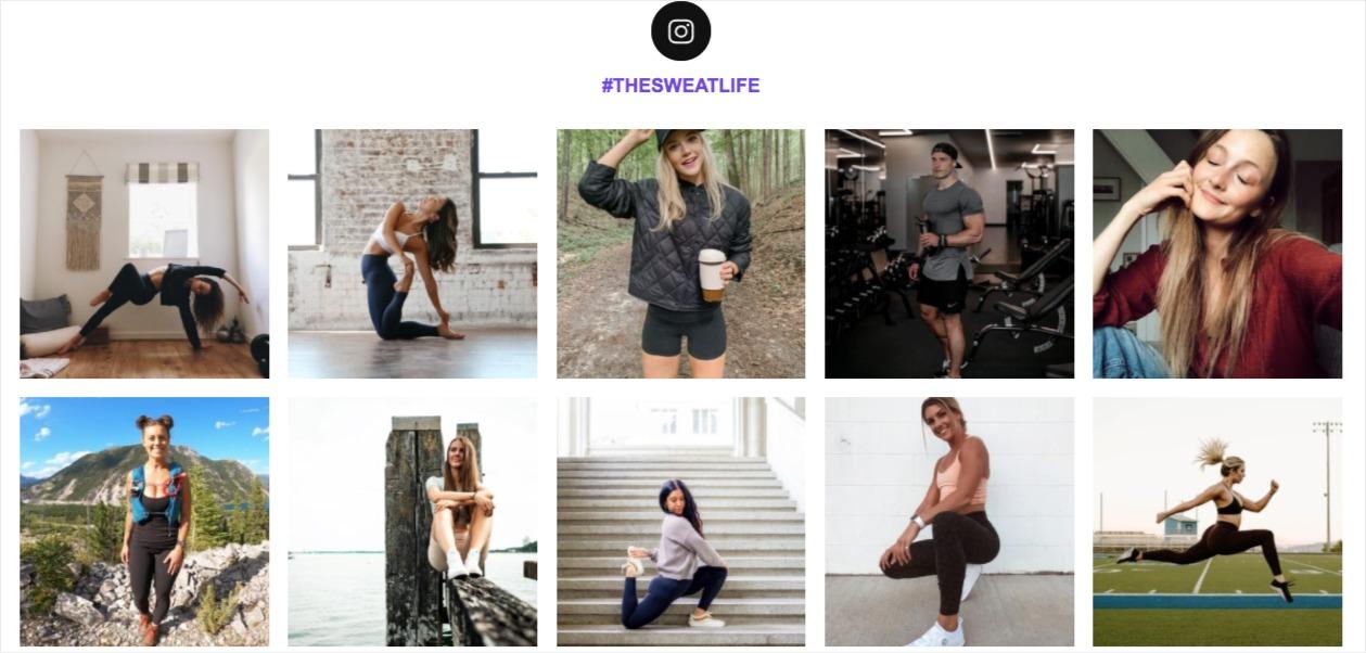 instagram hashtag feed