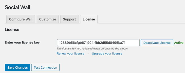license is active