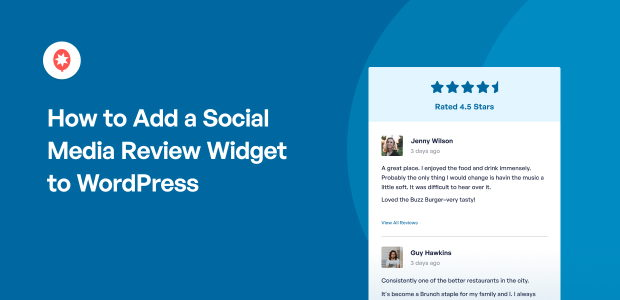 How to Add a Social Media Review Widget to WordPress