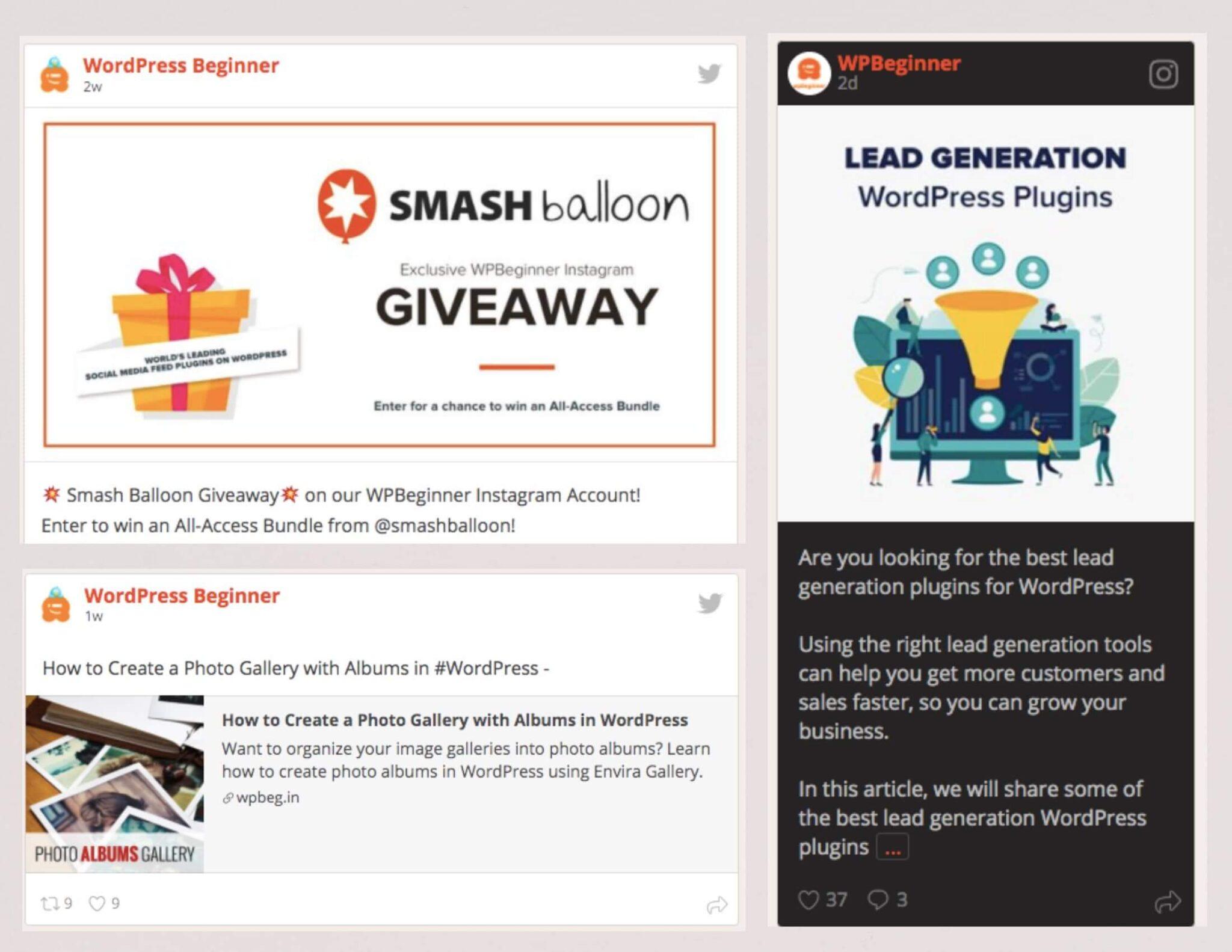 social wall pro smashballoon