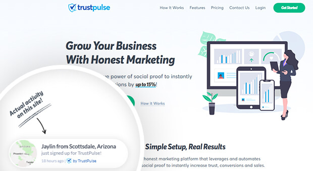 type of social proof trustpulse