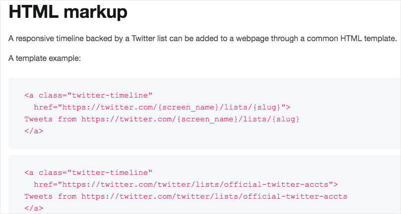 twitter embed code