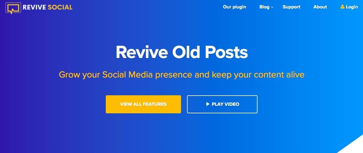 best twitter plugins revive old posts