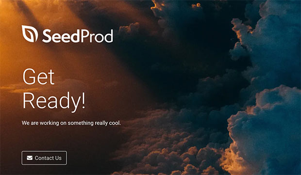 seedprod review coming soon page
