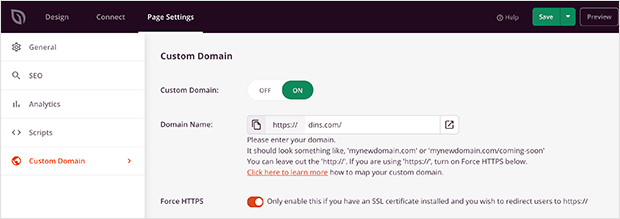 seedprod review custom domain