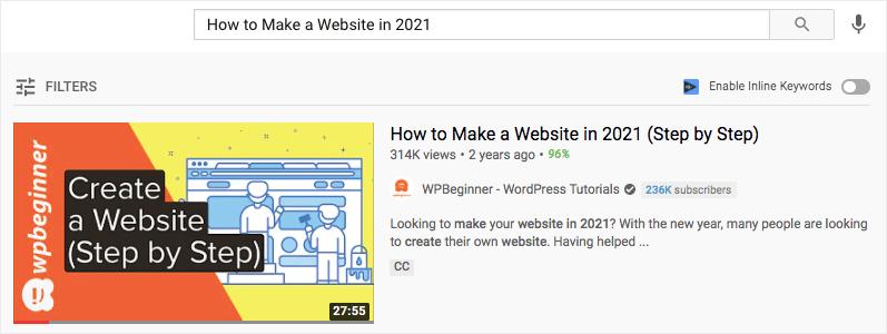 eye-catching youtube thumbnails