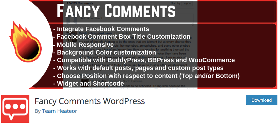 best facebook comments plugin