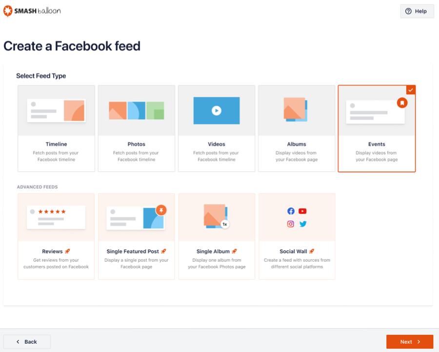 Event Create Feed - Facebook 4.0