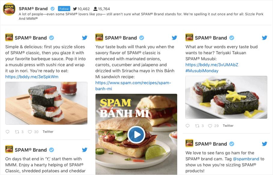 add twitter to wordpress spam