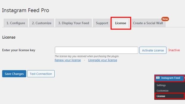 license instagram feed pro tutorial