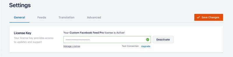 Active License - Facebook 4.0
