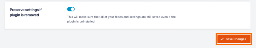 Preserve Settings - Facebook 4.0