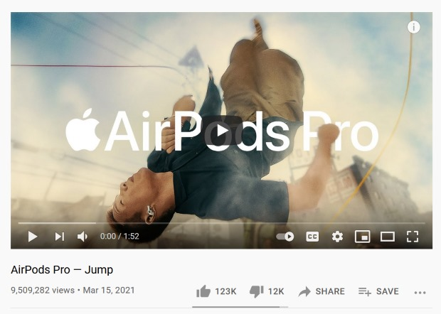 announcements and teasers for marketing apple