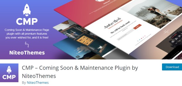 cmp coming soon page builder