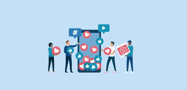 types of social media posts