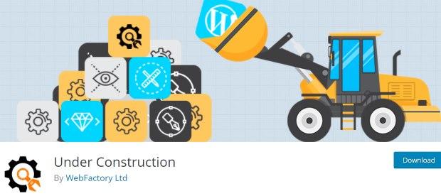 under construction best coming soon plugin