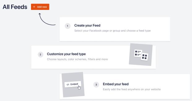 easier feed creation for custom facebook feed pro