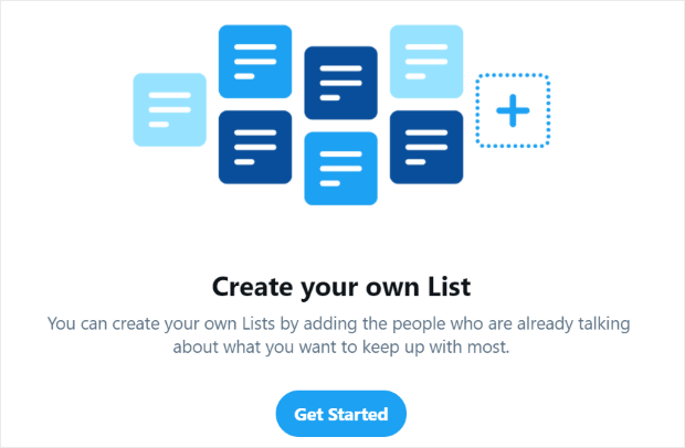 create your own twitter list