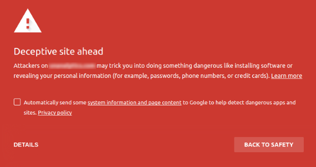 google warning due to feeds for youtube pro nulled