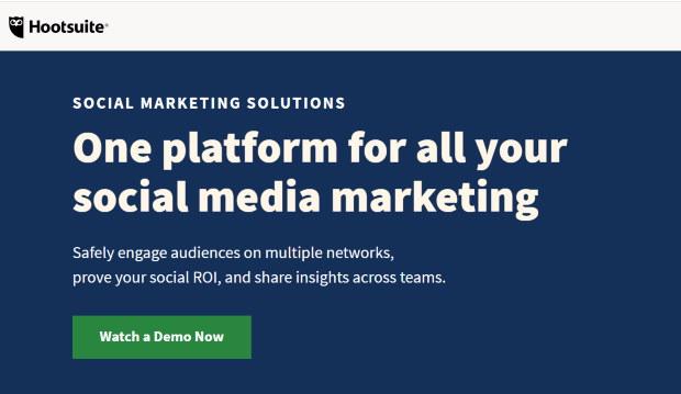 hootsuite social feed aggregator