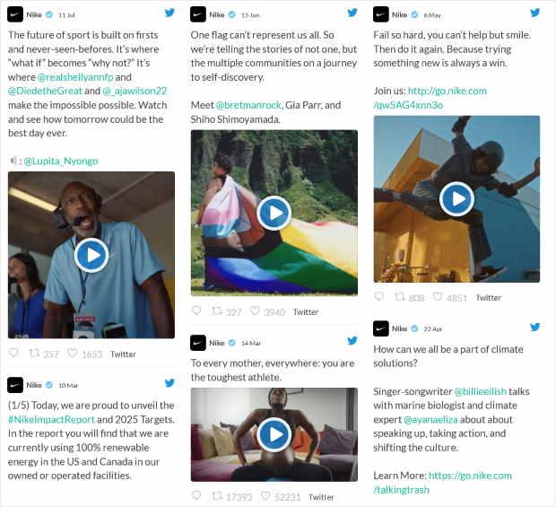 masonry feed layout for twitter