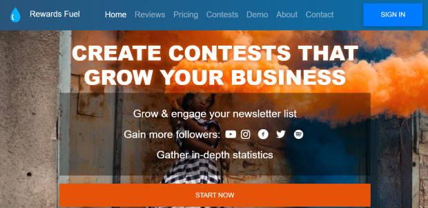 rewards fuel giveaway plugin wordpress