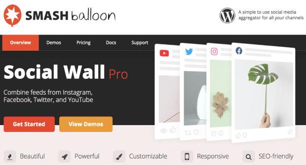 social wall pro plugin