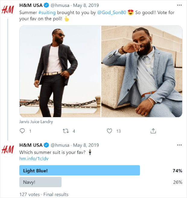 twitter polls example boost engagement