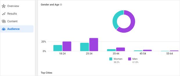 demographics facebook analytics