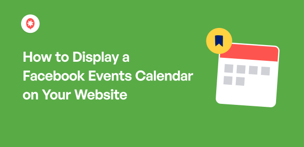 dispay facebook events calendar