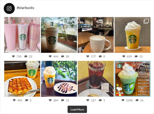 grid layout for your instagram feed
