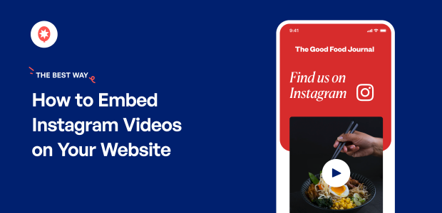how to embed instagram videos on website